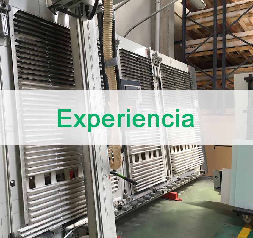 experiencia en plasticos Madrid